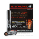 """410 Bore - 3"""" - 4 Plated Defense Disks over Plated Shot - Winchester Supreme Elite PDX1 - 10 Rounds"""