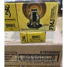 9mm - 115 Grain FMJ - Browning - 500 Rounds