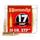 17 Hornady Magnum Rimfire (HMR) - 20 Grain XTP JHP - Hornady - 50 Rounds