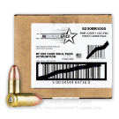 9mm - 115 Grain FMJ - Independence Bulk Pack - 1000 Rounds