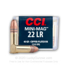 22 LR - 40 gr CPRN - CCI Mini-Mag - 5000 Rounds