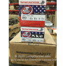 "20 Gauge - 2-3/4"" 7/8oz. #7.5 Shot - Winchester USA Game & Target - 250 Rounds"
