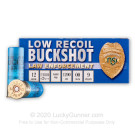 "12 Gauge - 2-3/4"" 9 Pellet 00 Buckshot - Noble Sport Low Recoil - 250 Rounds"