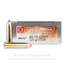 45-70 Government - 325 Grain FTX - Hornady LEVERevolution - 200 Rounds