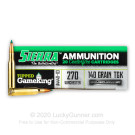 270 - 140 Grain TGK - Sierra GameChanger - 20 Rounds
