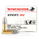 22 LR - 36 Grain Lead Hollow Point - Winchester Xpert - 5000 Rounds