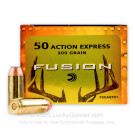50 Action Express - 300 Grain SP - Federal Fusion - 20 Rounds