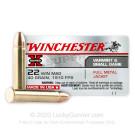 22 WMR - 40 gr FMJ- Winchester - 50 Rounds