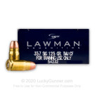 357 Sig - 125 gr TMJ - Speer Lawman Clean-Fire - 50 Rounds