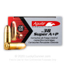 38 Super - + P 130 Grain FMJ - Aguila - 1000 Rounds