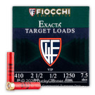 "410 Bore - 2 1/2"" 1/2oz. #7 1/2 Shot - Fiocchi - 250 Rounds"