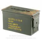 Surplus Mil Spec Ammo Can - 50 Cal M2A1 - Green - Fair Condition - 1