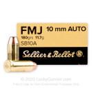 10mm Auto - 180 Grain FMJ-Sellier & Bellot - 50