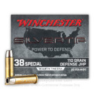 38 Special - 110 Grain JHP - Winchester Silvertip - 20 Rounds