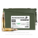 5.56x45 - 62 Grain FMJ M855 - Winchester - 420 Rounds in Ammo Can