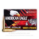 223 Rem - 50 Grain JHP - Federal American Eagle Varmint & Predator - 50 Rounds