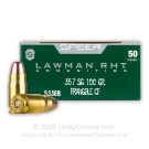 357 Sig - 100 Grain Frangible - Speer Lawman - 50 Rounds