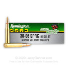 30-06 - 165 Grain Accutip BT - Remington Premier - 20 Rounds