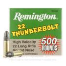 22 LR - 40 Grain LRN - Remington Thunderbolt - 500 Rounds