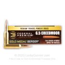 6.5 Creedmoor - 130 Grain Hybrid OTM - Federal Gold Medal Berger - 20 Rounds