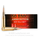 50 Cal BMG - 750 gr  A-MAX Match - Hornady - 10 Rounds