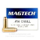454 Casull - 260 gr SJSP - Magtech - 20 Rounds