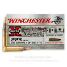 223 Rem - 55 Grain BTHP - Winchester Super-X - 500 Rounds