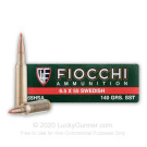 6.5x55mm Swedish - 140 Grain SST - Fiocchi - 20 Rounds