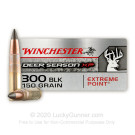 300 AAC Blackout - 150 Grain Polymer Tipped - Winchester Deer Season XP - 20 Rounds