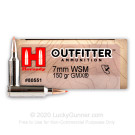 7mm WSM - 150 Grain GMX - Hornady Outfitter - 20 Rounds