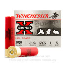"28 Ga - 2-3/4"" Super-X HB Game #5 Shot 1 oz - Winchester - 25 Rounds"