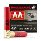 "410 Gauge - 2-1/2"" #8 Shot - Winchester AA Sporting Clays - 25 Rounds"