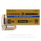 40 S&W - 180 gr HST JHP - Federal Premium Law Enforcement - 50 Rounds
