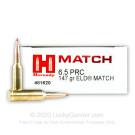 6.5 PRC - 147 Grain ELD Match - Hornady - 200 Rounds