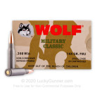 308 - 145 Grain FMJ - Wolf WPA - 20 Rounds