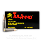 7.62x39 - 122 Grain FMJ - Tula Cartridge Works - 1000 Rounds