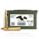 223 Rem - 55 Grain FMJ - Ammo Can - Federal American Eagle - 500 Rounds