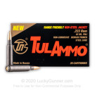223 Rem - 62 Grain FMJ - Tula - 1000 Rounds