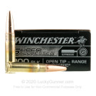 300 AAC Blackout - 200 Grain Open Tip - Winchester Super Suppressed - 20 Rounds
