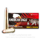 22 Hornet - 35 Grain Tipped Varmint - Federal American Eagle Varmint & Predator  - 50 Rounds