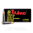 7.62x39 - 124 Grain SP - Tula - 1000 Rounds