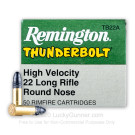 22 LR - 40 gr LRN - Remington Thunderbolt- 500 Rounds