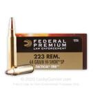 223 Rem - 64 Grain Hi-Shok SP - Federal Premium Law Enforcement - 500 Rounds
