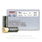 "12 Gauge - 3"" 1-1/4oz. #3 Steel Shot - PMC High Velocity Magnum Steel - 250 Rounds"