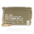 5.56x45 - 62 Grain FMJ F1 - Australian Defense Industries - 900 Rounds in Ammo Can