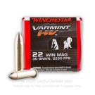 22 WMR - 30 Grain V-Max Winchester Varmint HV - 50 Rounds