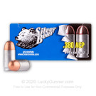 380 Auto - 94 Grain FMJ - Silver Bear - 1000 Rounds