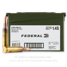 5.56x45 - 55 Grain FMJ - Federal American Eagle - 400 Rounds in Ammo Can
