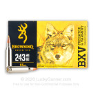 243 - 65 Grain Polymer Tip - Browning BXV - 20 Rounds