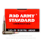 5.45x39 - 59 Grain FMJ - Red Army Standard - 20 Rounds
